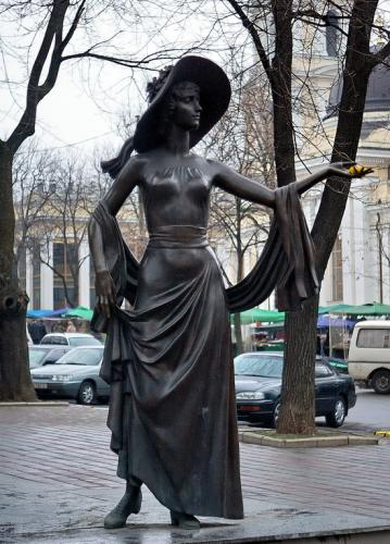 памятник соньки золотой ручки фото
