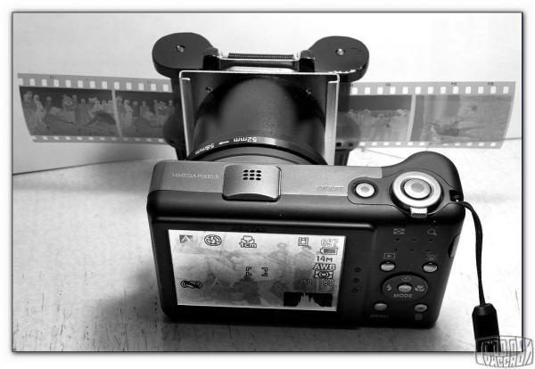 фотоаппарат пересъемка слайдов достаточно много