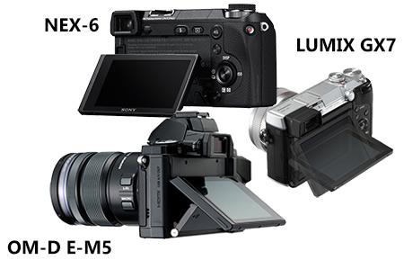 Прикрепленное изображение: tilting-screen-gx7-vs-nex-6-e-m5.jpg